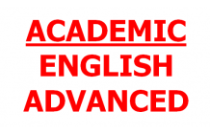 Academic English - Advanced